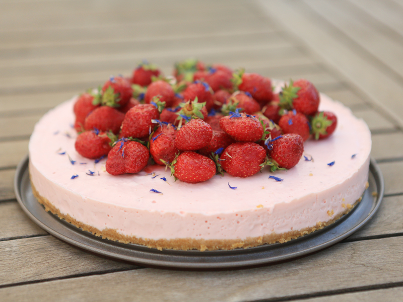 Cheese Cake Fraise Avocat