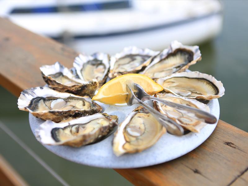 Les aventures culinaires de chlo hu tres du bassin d - Restaurant l huitre y est port des barques ...