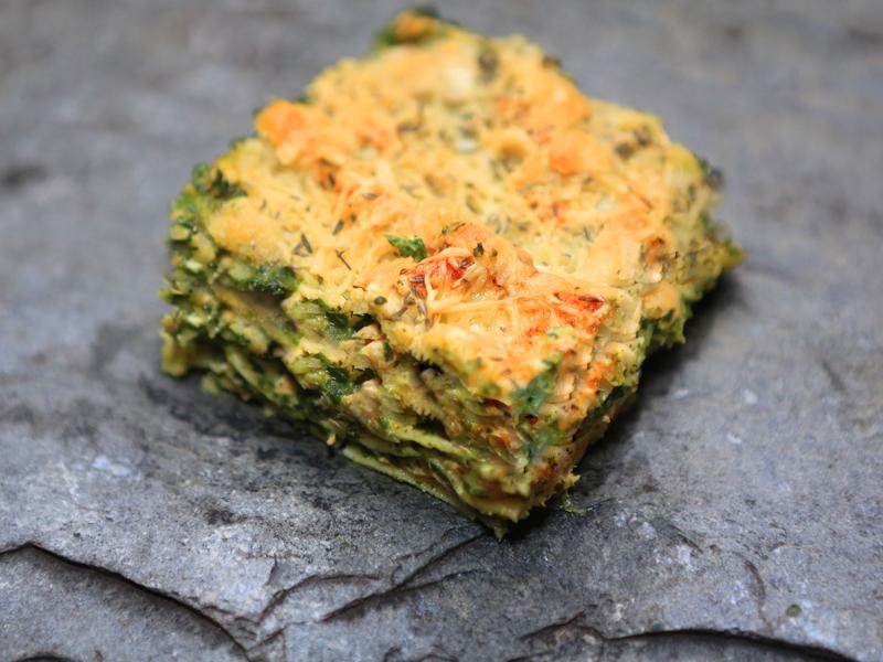 Lasagne saumon/épinard