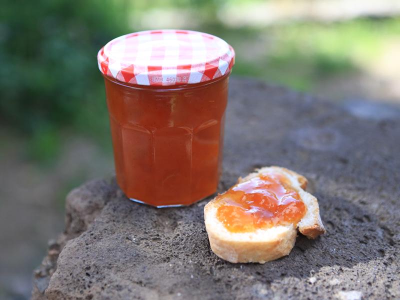 Confiture abricot/vanille